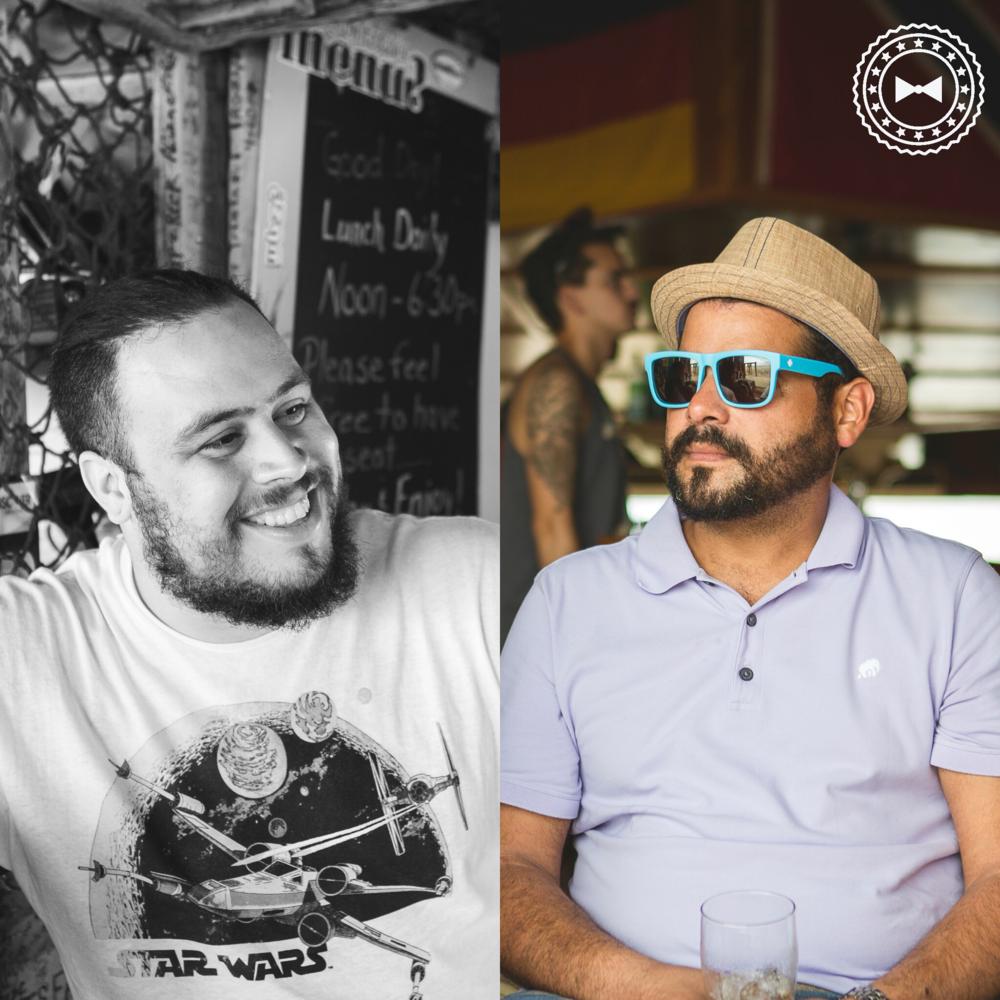 Chef Hector Rosas y Chef Xavier Pacheco