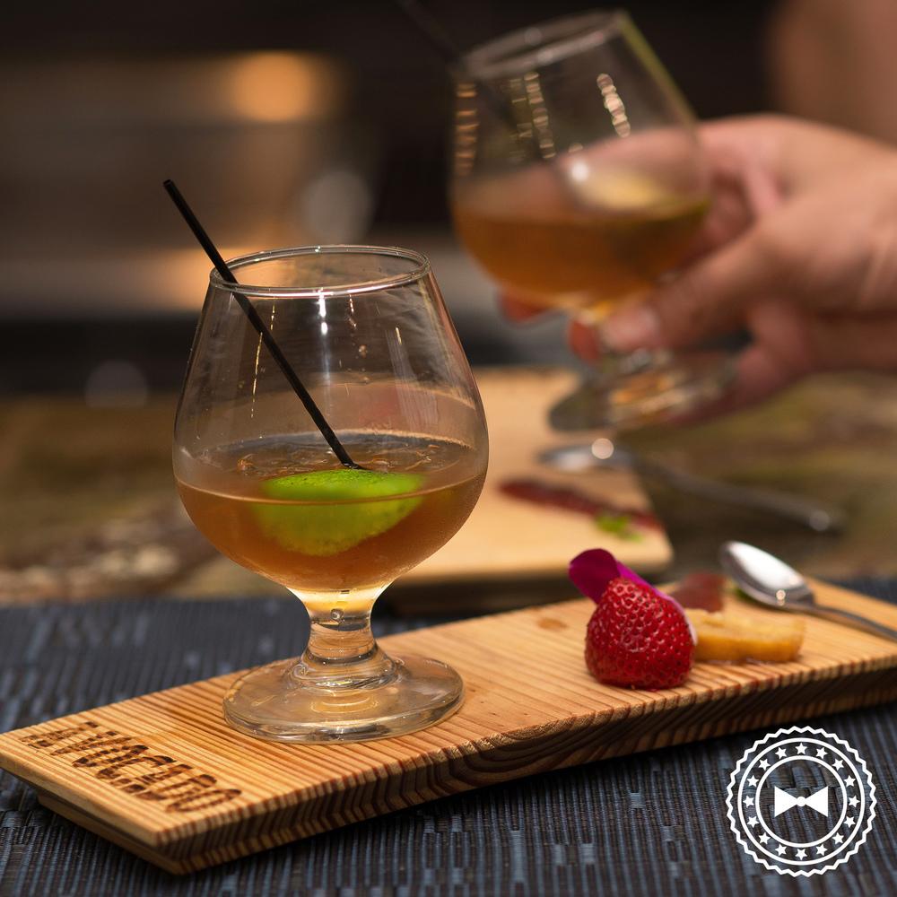 Old Fashioned Remix con Ron Zacapa @ Avocado Cocina Local & Patio Bar, Guaynabo.