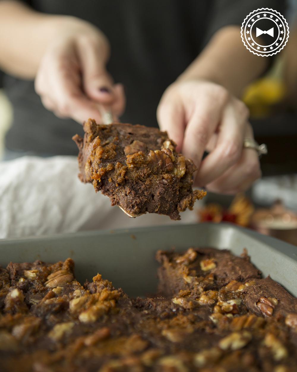 Brownie nítido