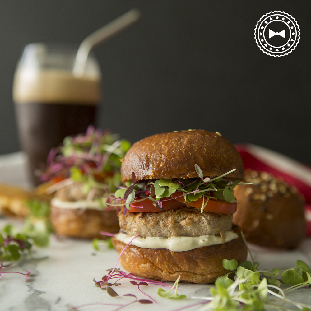 Sliders de pavo