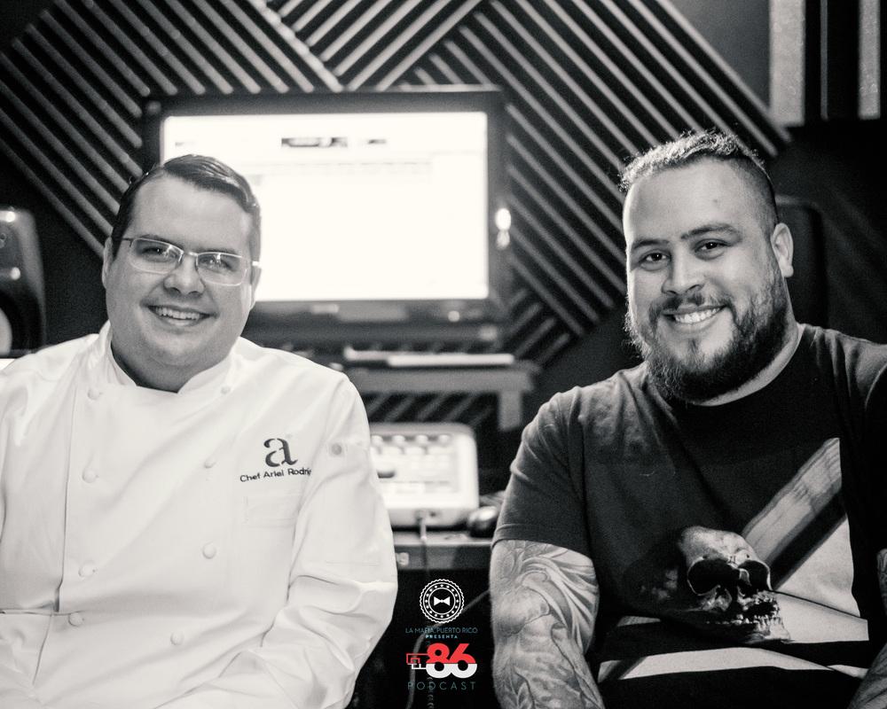 Chef Ariel Rodríguez y Chef Héctor Rosas