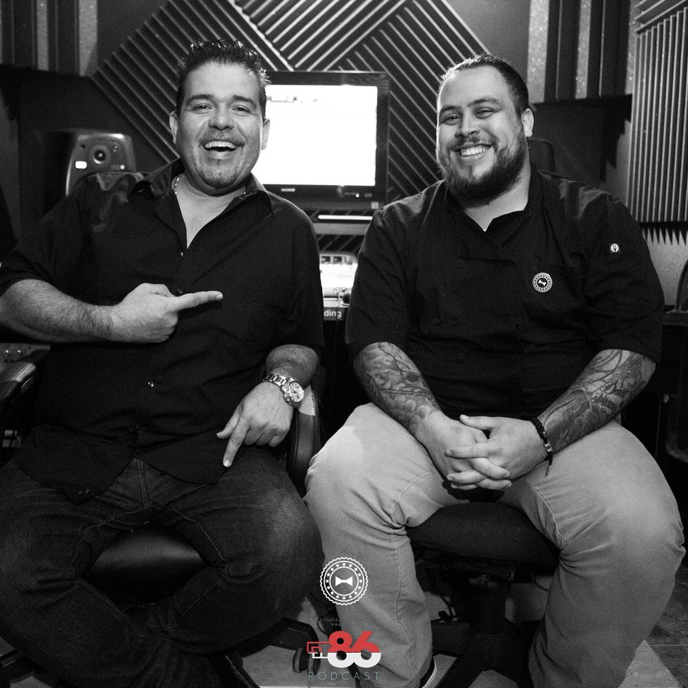 Chef Roberto Treviño y Chef Héctor Rosa