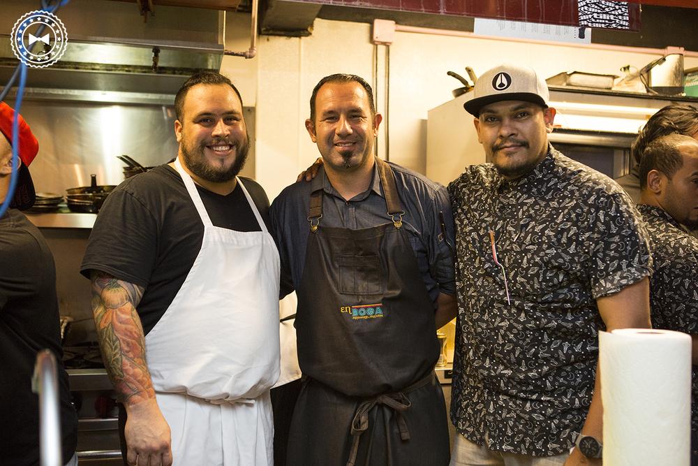 Héctor Rosa, Pedro Torres & Álvaro Sosa