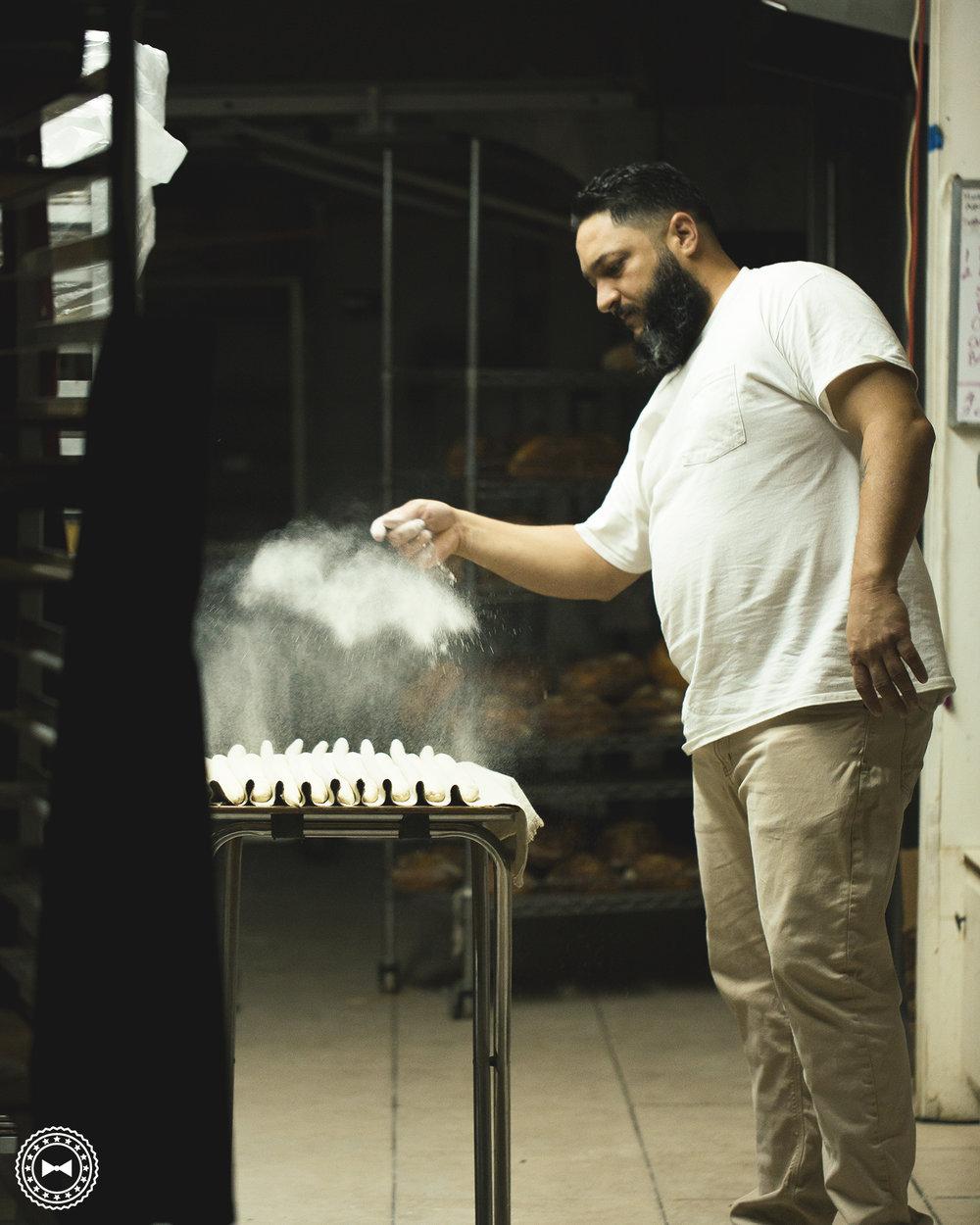 José Rodríguez, maestro panadero de Levain Artisan Breads.