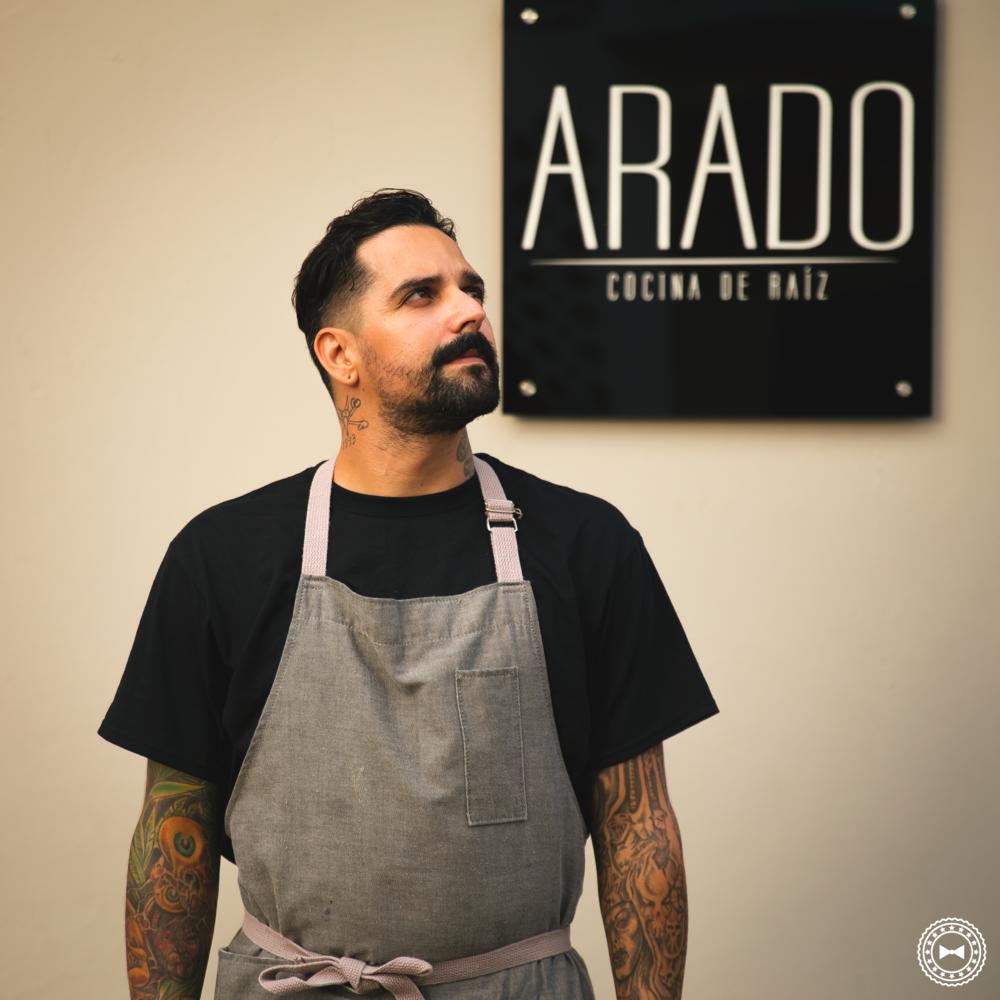 Chef Pierre Michelle Trazanco, de Arado • Cocina de Raíz, Arecibo