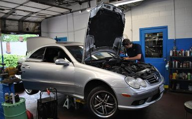 Mercedes Benz check engine light repair in Columbia, SC 29205