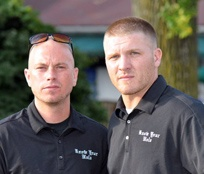 Rob McBurney & Lukas Ford (Co-Founders/Golf Tournament Chairs