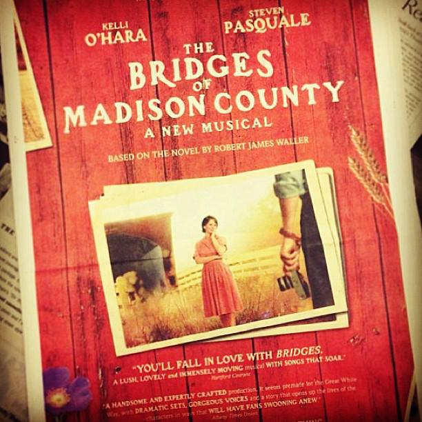 The Bridges of Madison County ad in the New York Times
