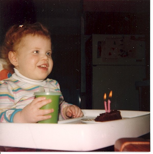 My 2nd birthday.