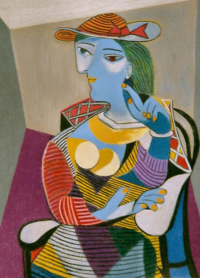 Seated-Woman-Marie-Therese-By-Pablo-Picasso