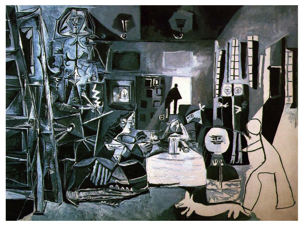 Las Meninas, by Picasso age 75