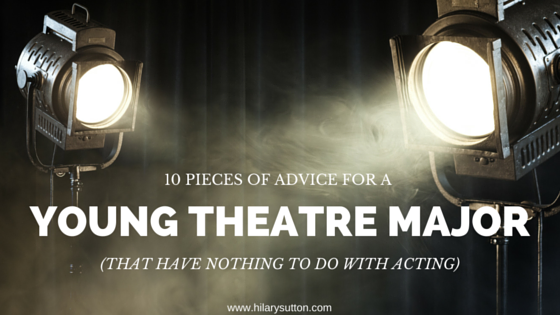 advicetheatremajor