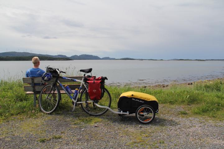 Min gamle hybrid er nå pensjonert for lengre sykkelturer.