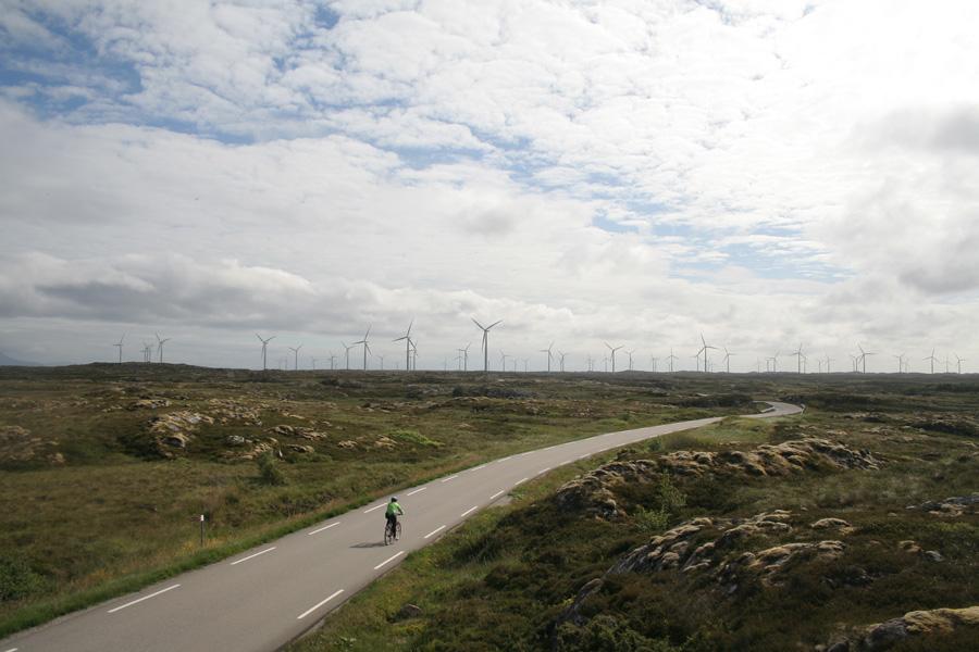 Sykkelturpå Smøla.