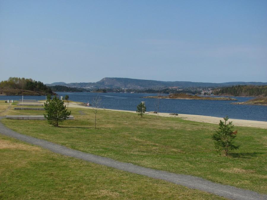 Storøyodden, Oksenøya.