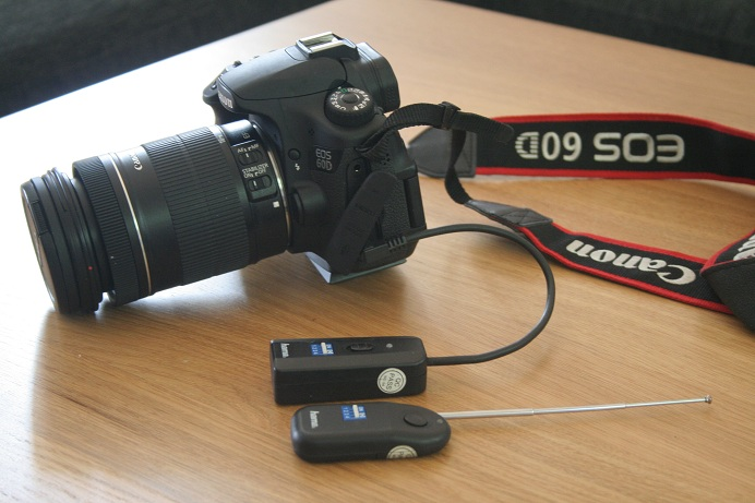 Kamera med fjernkontroll