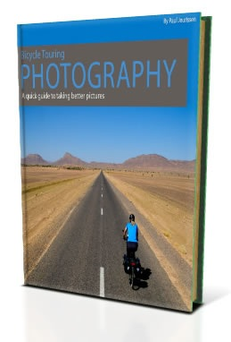 Forside bicycle touring photography