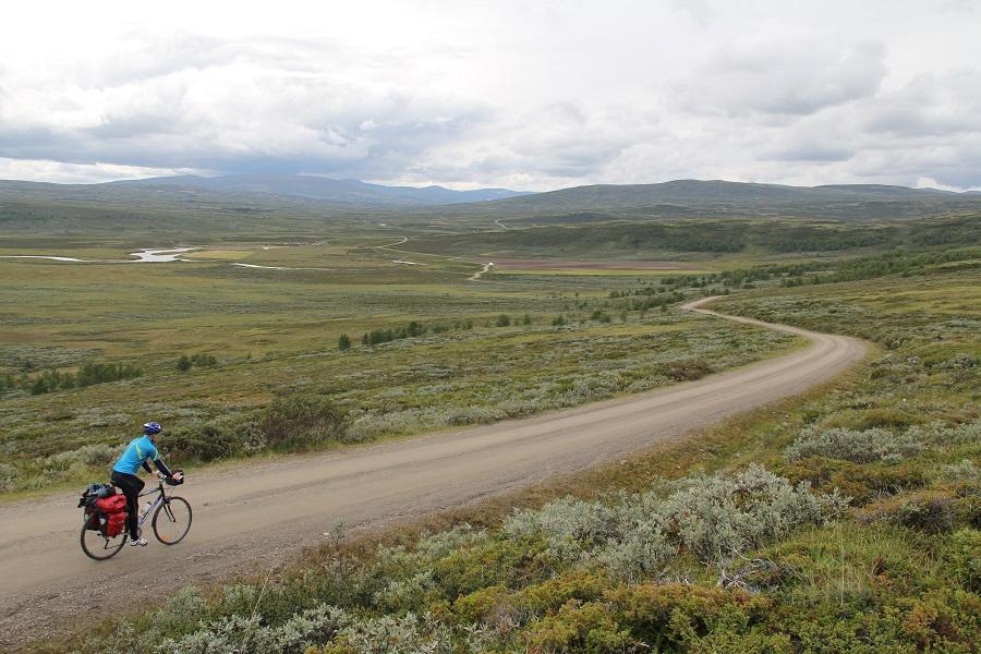 Einunndalen er Norges lengste seterdal, og svært velegna for sykkelturer.