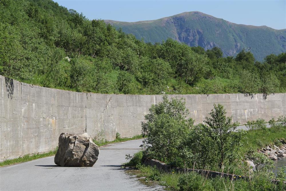 Gamlevegen over Storvikskaret.
