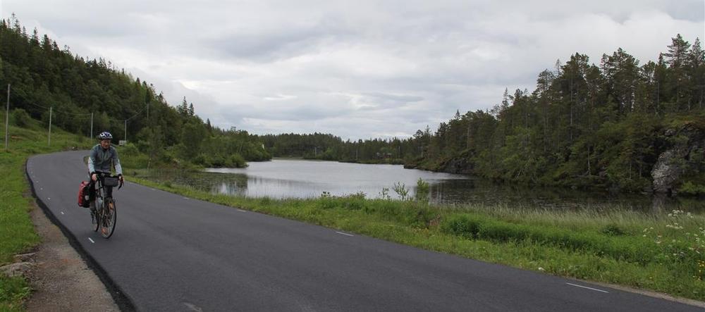 Fredelige småveier på Fosen.