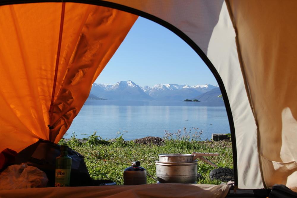 Mens andre morgener er perfekte. Været, beliggenheten, kaffen, ostesmørbrødene, god tid. Alt stemmer.