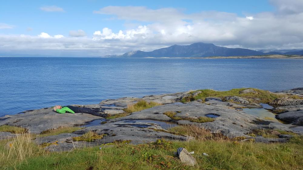 En liten cowboystrekk på Nordarnøy.
