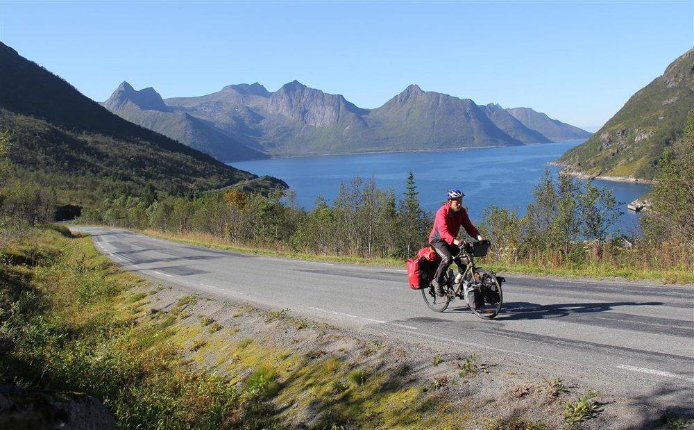 Og Norges fineste område å sykle i er ... Svaret finner du nederst i artikkelen.