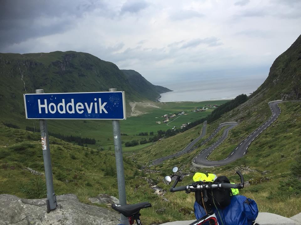 Hoddevik på Stadlandet var et av høydepunktene på turen.