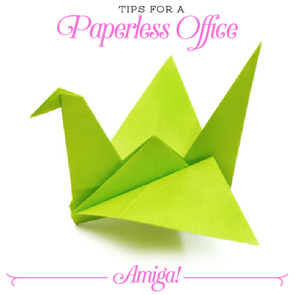 Tips For A Paperless Office Amiga