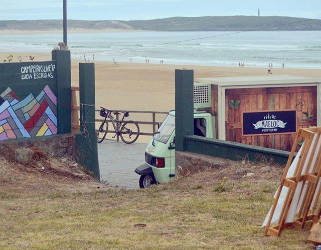 Y ya llegaron! Otro año más! @maelocway y su divertido motocarro que nos refrescará este fin de semana con sidras de todos los sabores, atent@s a las promociones y llevate un montón de regalos!!!! 🌊 #campeiraslive #maeloc #maelocway #donaMusica #donaMúsica #campeiraslive17 #campeiras #live #surf #galicia #galifornia