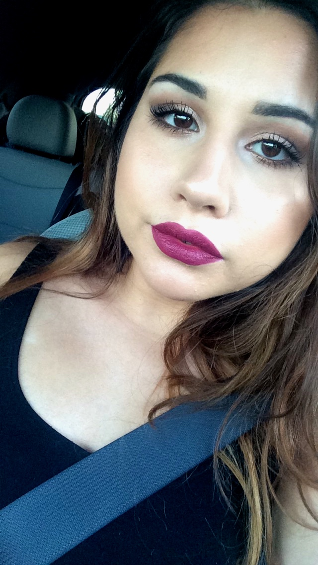 Wearing ABH Craft Liquid Lipstick