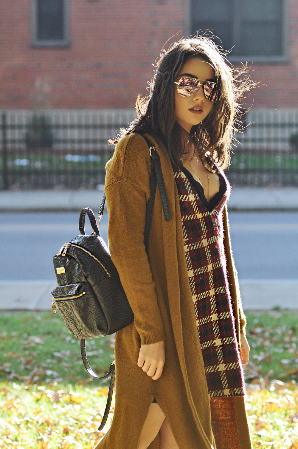 fall style plaid