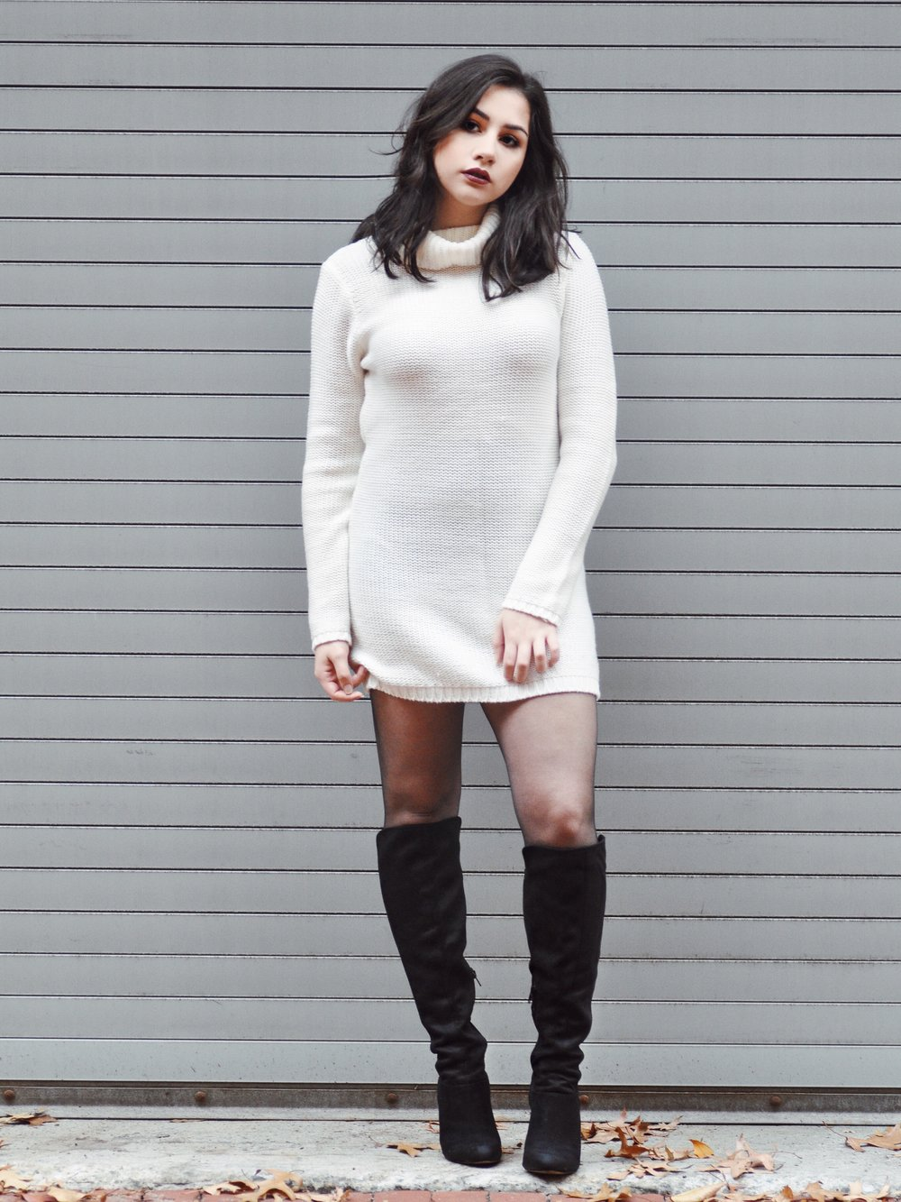 tobi nestled up sweater dress