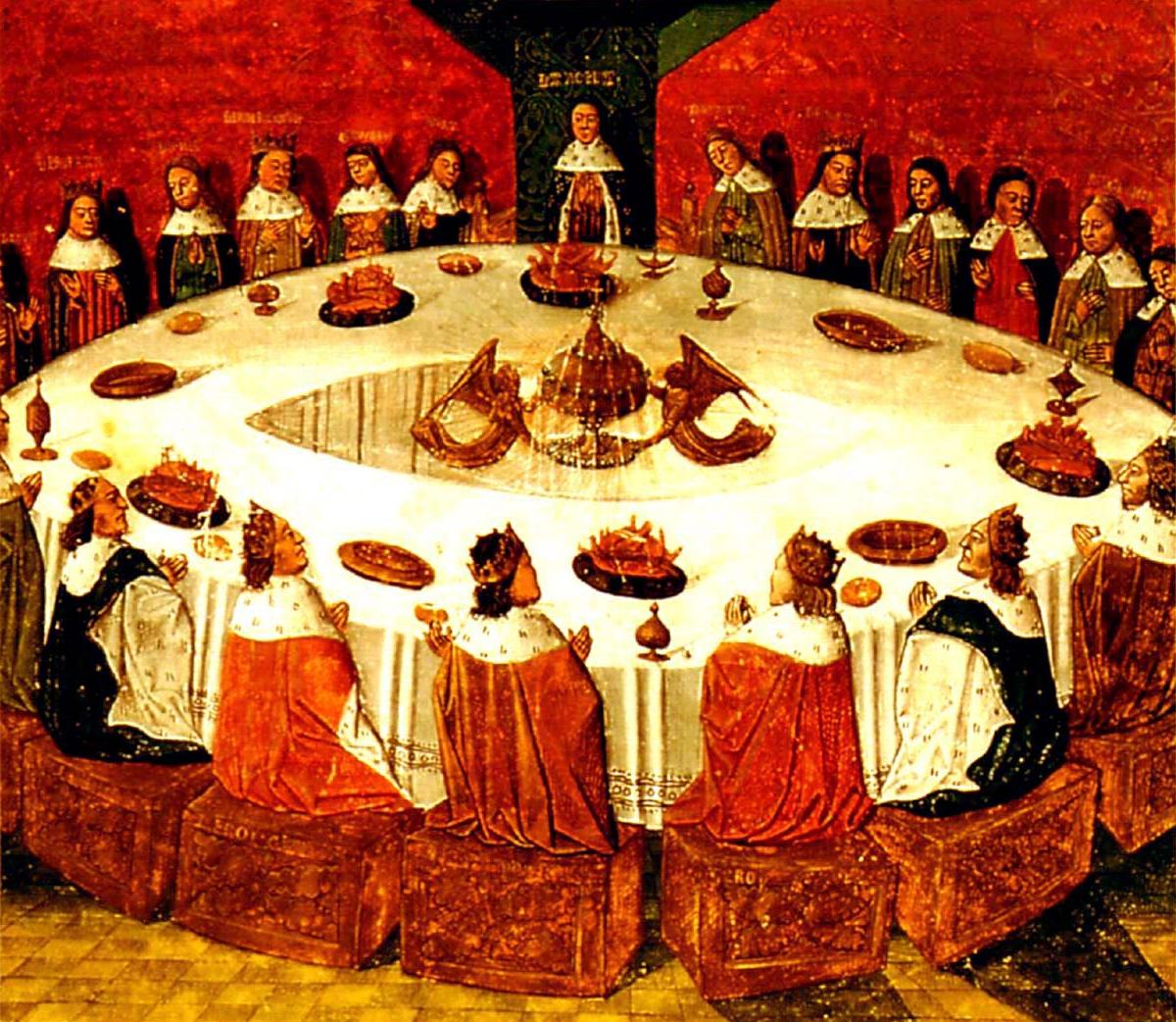 Round Table Tracy Camelot The Court Of King Arthur Chomun Xx