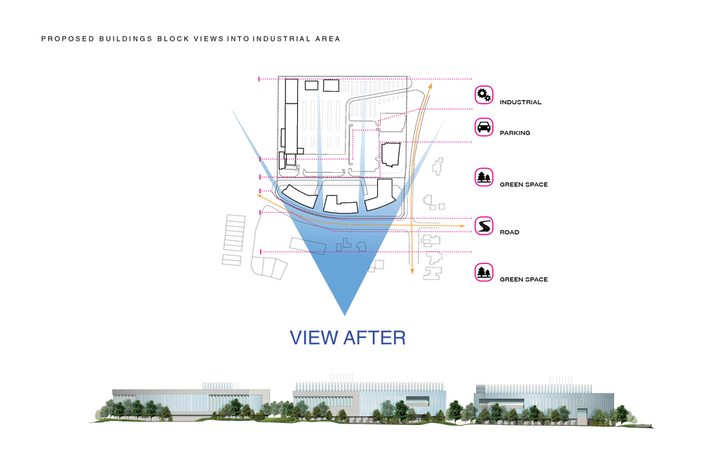 C_Performance Master Plan_Diagram_New Buildings Block Views into Industrial Site.jpg