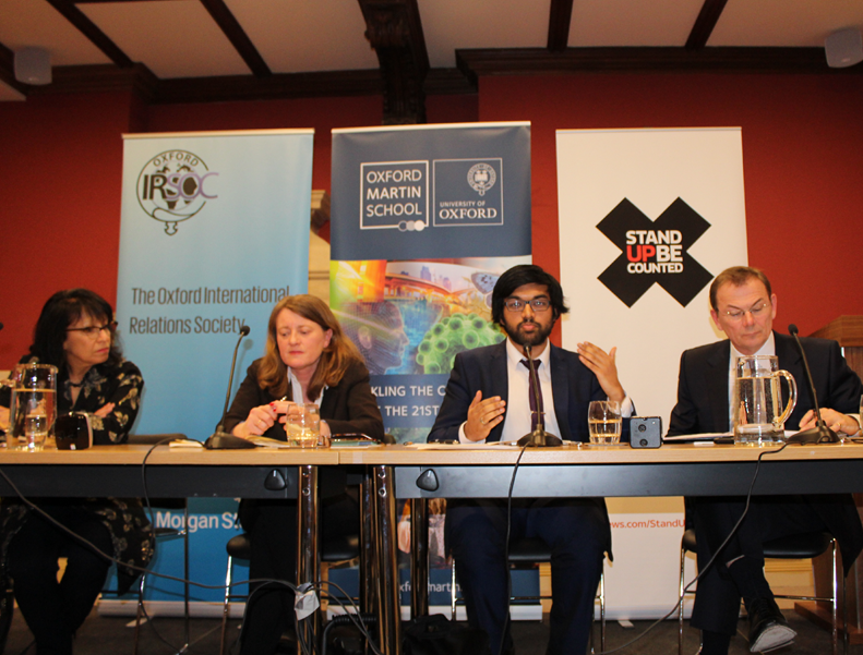 Left to right: Baroness Falkner (Liberal Democrat Peer), Helen Margetts (Director of the Oxford Internet Institute), Areeq Chowdhury (Chief Executive WebRoots Democracy), Andrew Wilson (Sky News Presenter)