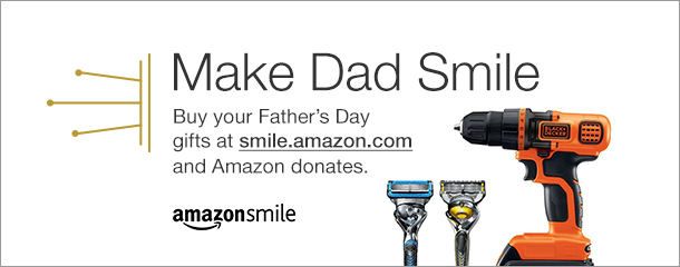 Father's Day is Sunday, June 19, shop at smile.amazon.com and Amazon will donate to Plaquemines Community Care Centers Foundation Inc. Use the link below to be directed to great Father's Day gift ideas in support of Plaquemines Community Care Centers Foundation Inc. AmazonSmile Father's Day Link: http://smile.amazon.com/gp/charity/homepage.html?orig=%2Fgp%2Fbrowse.html%3Fnode%3D502661011&ein=20-3884943 Thank you for your participation in the AmazonSmile program.