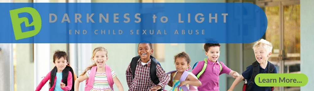 Darkness to light home page banner