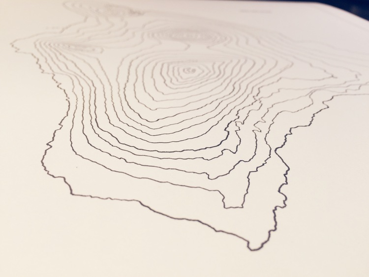 Hawaii Topographic — J.Peters Fine Mapping Co.