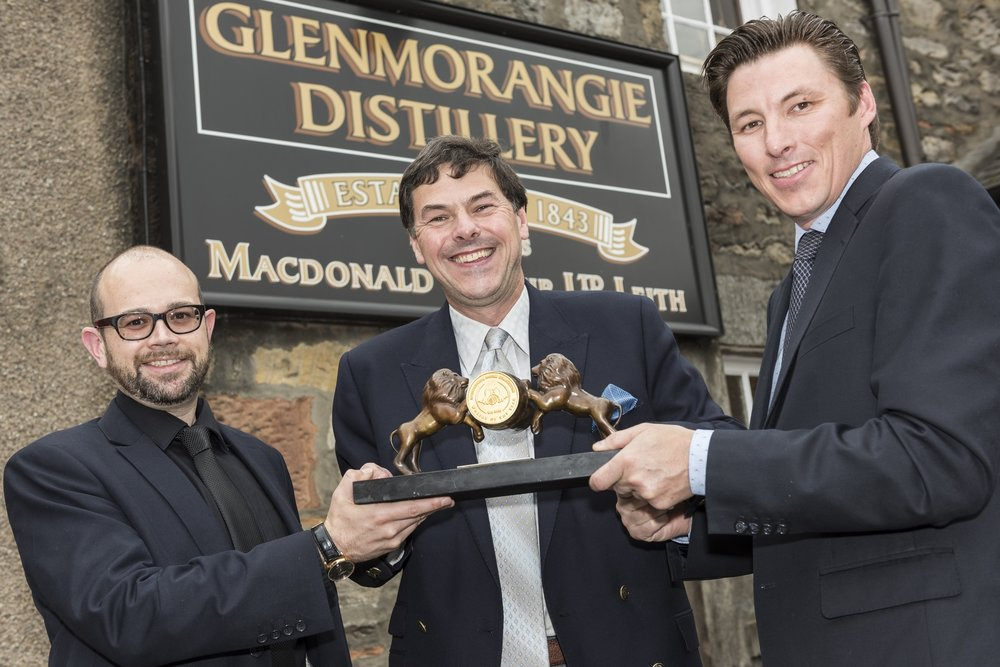 Glenmorangie Distillery _ Golden Barrel Award