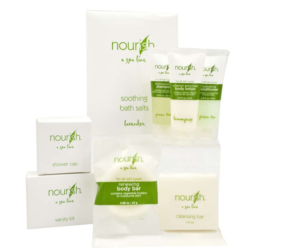 picture of nourish hotel products amenities