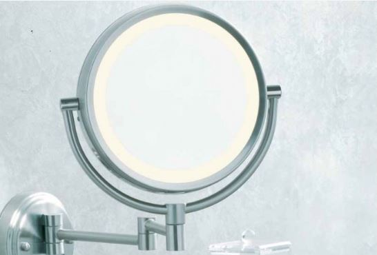 photo of makeup mirror