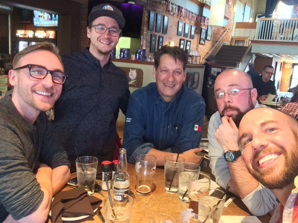 (L-R) Cam, Taylor, Paul, Aaron, J