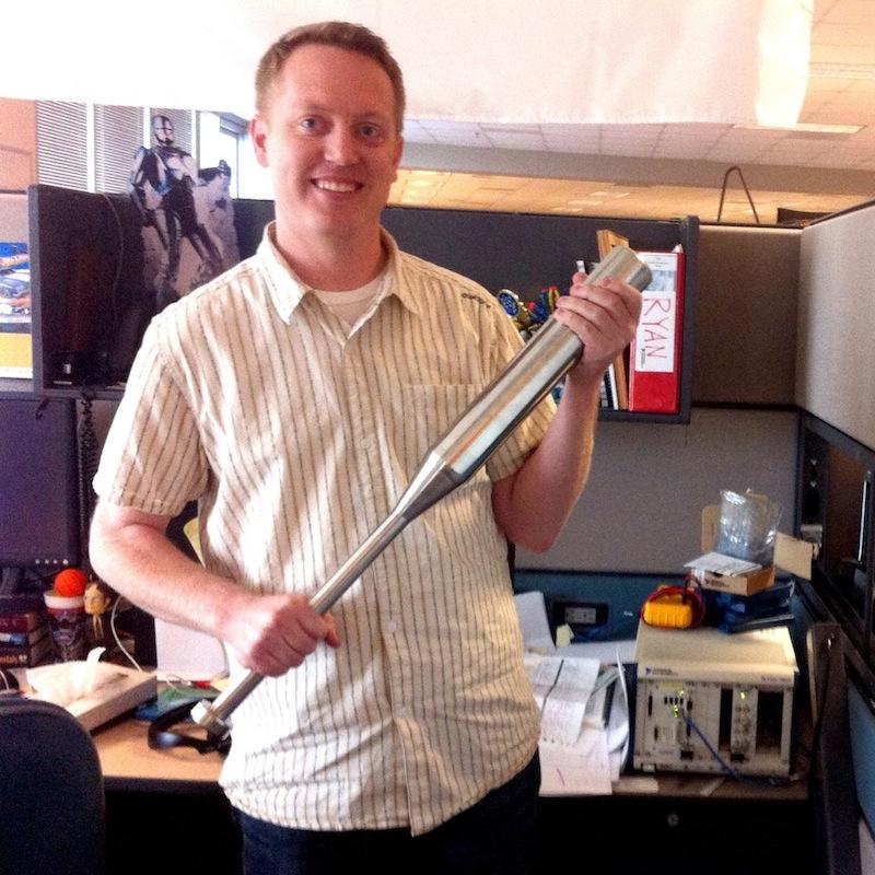 Stainless Steel Baseball Bat