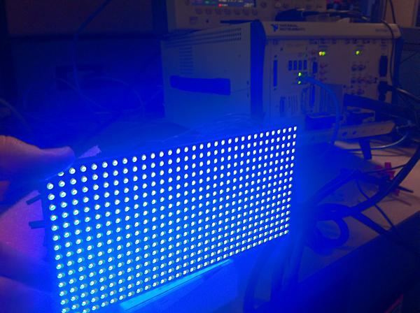LED Panel Blue