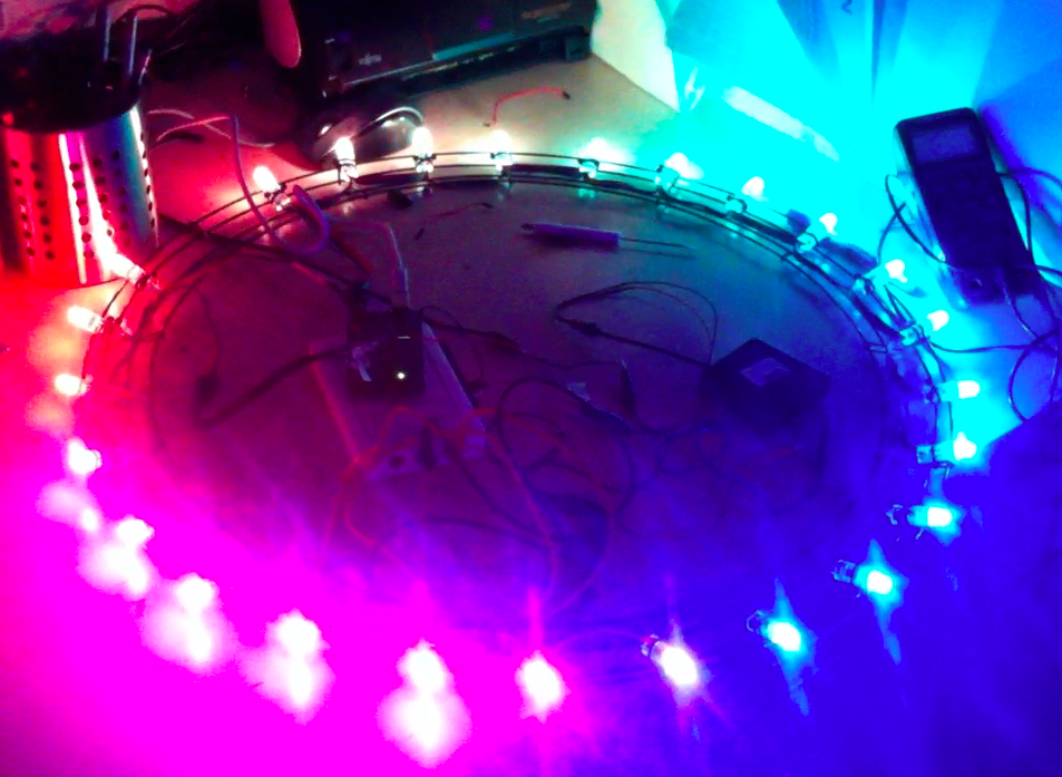Rainbow Cycle LEDs