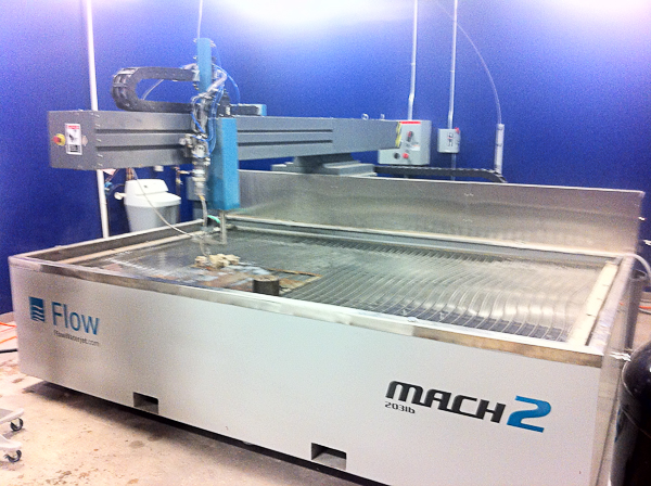 TechShop Waterjet Mach 2