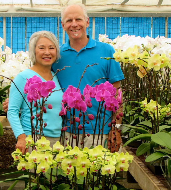 Laura and Dennis Keany have owned and operated South Coast Orchids for over 30 years and now are contributing their vast farming knowledge to Sundial Farm. Laura is a breast cancer survivor since 2011. Her passion for this business is fueled from her belief that we need to keep our food and environment clean from chemicals and pesticides. Both Dennis and Laura have art degrees and enjoy living by the beach and a healthy life style including yoga, gardening, walking and eating well.