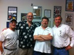 Wayne and hosts at Shades of Green Energy Radio