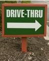 Drivethru sign